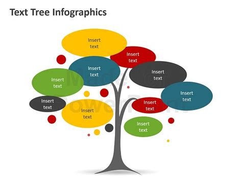 product tree template tree diagram infographic editable powerpoint template
