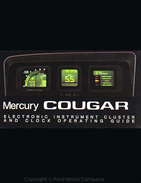 manual repair free 1992 mercury cougar instrument cluster service manual instruction for a 1986 mercury cougar instrument cluster how to open