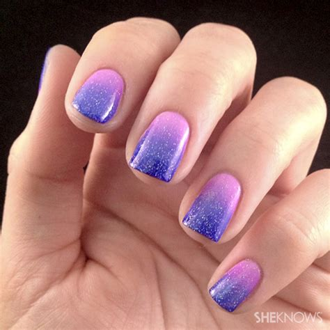 ombre design lacquered love ombre nail art