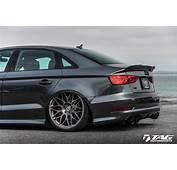 2015 Audi S3 Additionally A3 Sedan On Body Kit Rs7 Black
