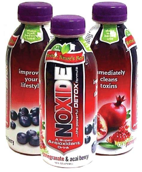 Whole Detox Drink by Dropship Wholesale Noxide Acai Berry Pom Detox Drink 16oz