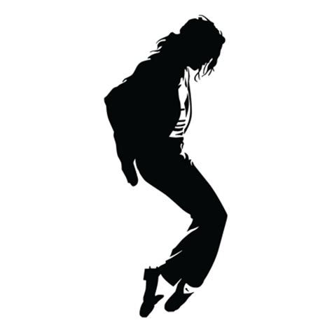 Black White And Gold Home Decor by Michael Jackson Vinyl Silhouette 1 163 1 99 Blunt One