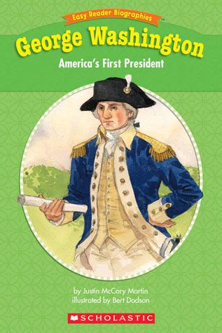 biography of george washington book easy reader biographies george washington george