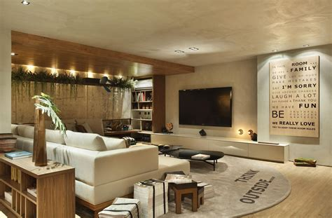 decorar sala de television sala de tv moderna 60 modelos projetos e fotos para decorar
