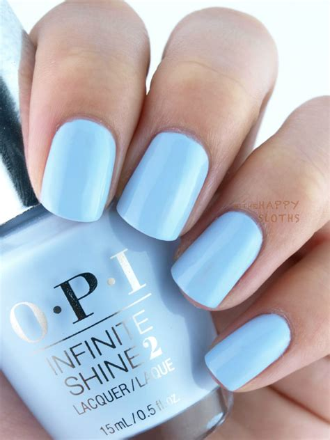 opi light blue nail polish opi infinite shine summer 2015 collection review and