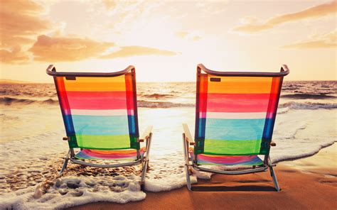 Summer Chairs by Wallpaper 764914
