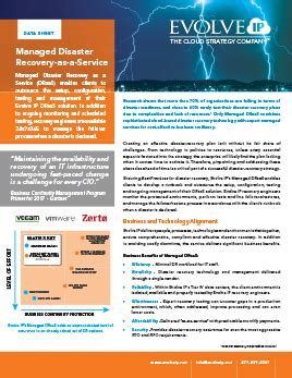 Mba In Disaster Management From Ip by How To Prepare For An It Disaster Evolve Ip