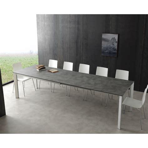 tavolo allungabile 3 metri tavolo allungabile fino a 3 metri in alluminio e laminato