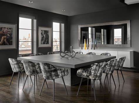 urban penthouse contemporary dining room chicago