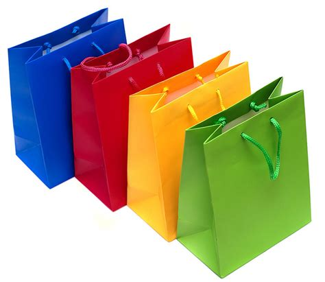 Paper Bag Fullcolor paper shopping bag color paper bags with handels