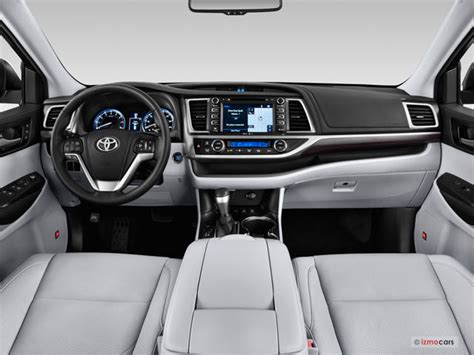 toyota highlander 2016 interior toyota highlander prices reviews and pictures u s