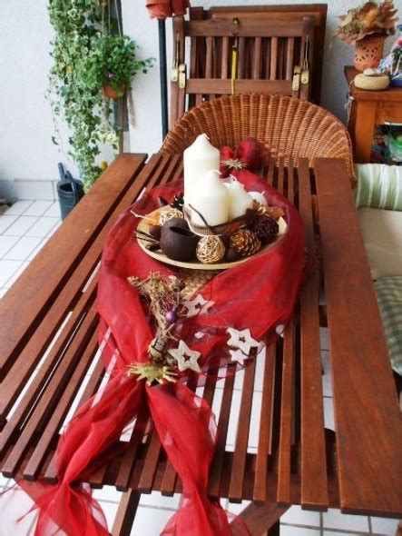 Kerzen Grau Günstig by Balkon Dekor Weihnachten