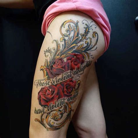 40 most beautiful filigree tattoo designs