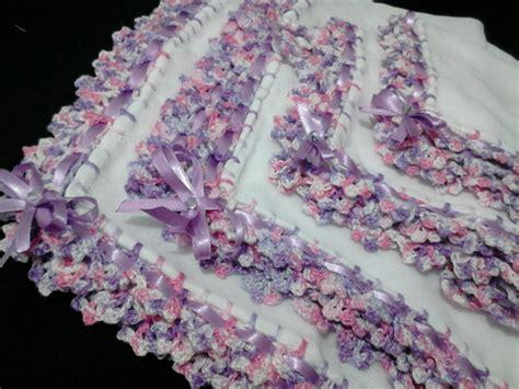bicos de croch elo7 bicos de croche para fraldas com grafico elo7