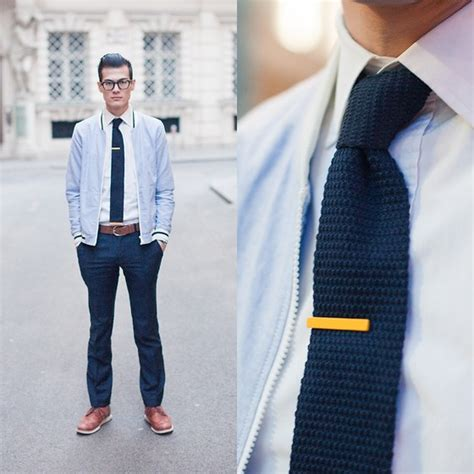 how to tie knitting chris nicholas tie clip knit tie 117 lookbook