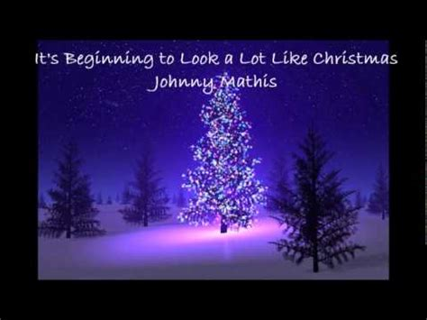 its beginning to look a lot like christmas chords it s beginning to look a lot like christmas johnny mathis