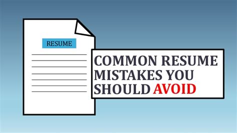 Common Date Mistakes You Should Avoid by Common Resume Mistakes You Should Avoid