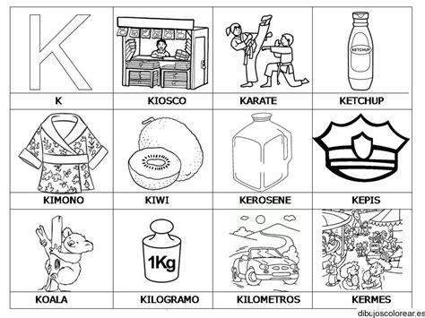 imagenes que comiencen con la letra k dibujos con la letra k