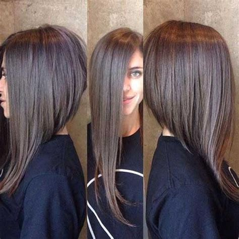 20 best long inverted bob hairstyles the best short 15 best ideas of long inverted bob haircuts with bangs