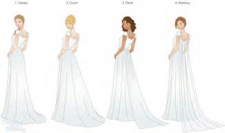 wedding dresses different styles wedding trains guide to style type and length lds