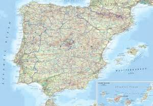 Map If Spain by Travelling Map Of Spain