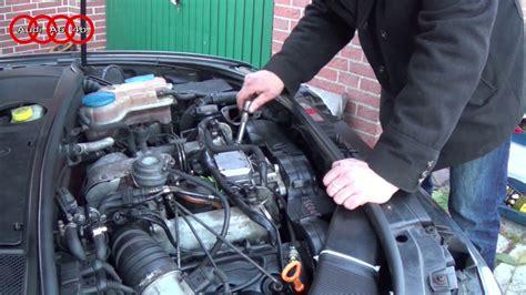 Audi A6 2 5 Tdi Probleme by Audi A6 4b C5 2 5 Tdi Gl 252 Hkerzenwechsel Youtube