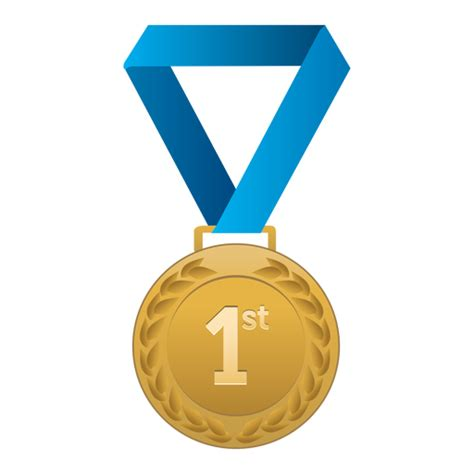 first place gold medal transparent png amp svg vector