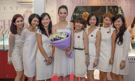 Shiseido White Lucent Indonesia shiseido celebrates marketing interactive