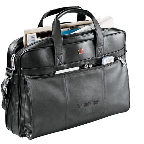Swiss Army Leather wenger 174 swiss army leather business brief 9350 09 129