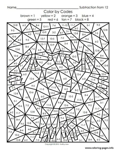 coloring pages by numbers for adults printable color by number for adults coloring pages printable