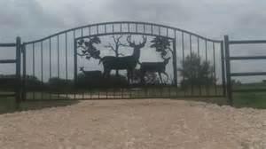 Ranch Home Custom Metal Ranch Farm Home Amp Driveway Entrance Gates