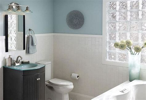 Bathroom Colors From Lowes Clean Simple Design Small Bathroom With White Subway