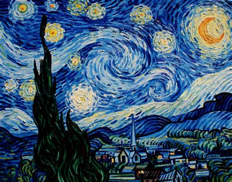 starry night the process of painting starry night van gogh jessica