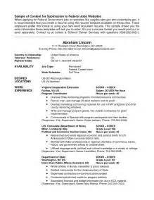 Cv Usa by How To Write A Usajobs Resume Samples Of Resumes