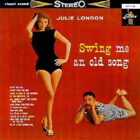 swing me julie london albums 1959