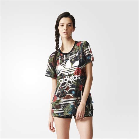 Original Kaos Adidas Originals Crop Multicolor adidas farm xilofloresta logo multicolor adidas us