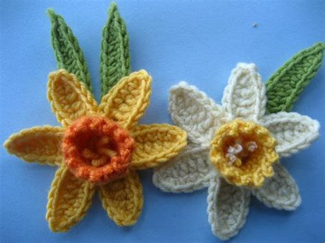 pattern crochet daffodil attic24 crochet daffodil