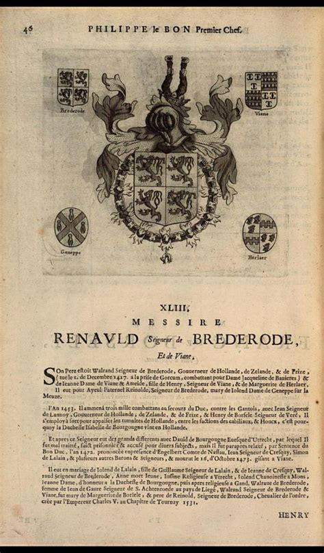 the seventh letter 48 best images about de heren brederode on 1667
