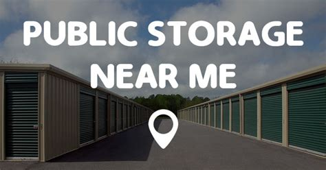 public storage   points