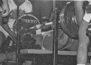 mike macdonald bench press the tight tan slacks of dezso ban rick weil on the bench