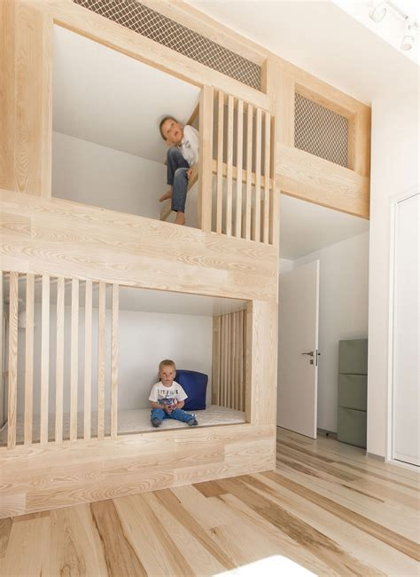 bed built into wall kids bunk beds that are built into the design of the loft
