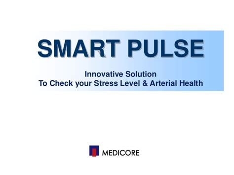 Smart Pulse Stress Analyzer Type Android smart pulse pt