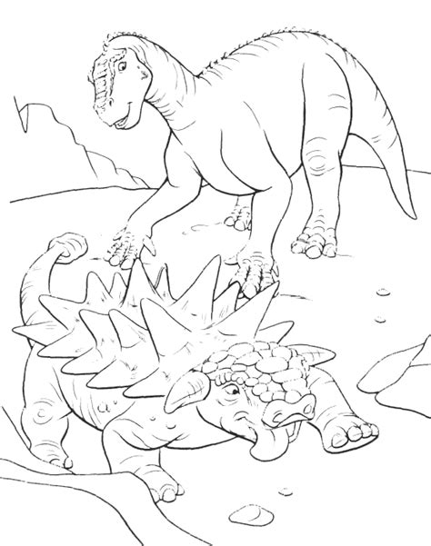 disney dinosaur coloring page free disney dinosaur coloring pages