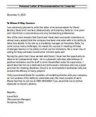 sle coworker recommendation letter letter of recommendation for coworker teacheng us