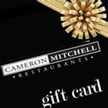 Cameron Mitchell Gift Card - marcella s