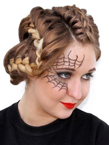 halloween hairstyles for thin hair halloween hair how to hairstyle french plaits for halloween