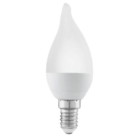 eglo lighting 4w led warm white e14 small edison candle l with bent tip castlegate lights