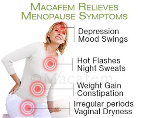hot flashes mood swings depression macafem benefits macafemonline com
