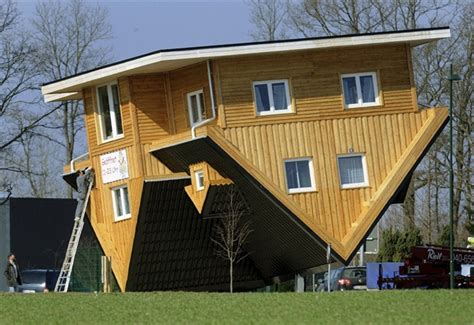 upside down house the amazing house in germany that is upside down