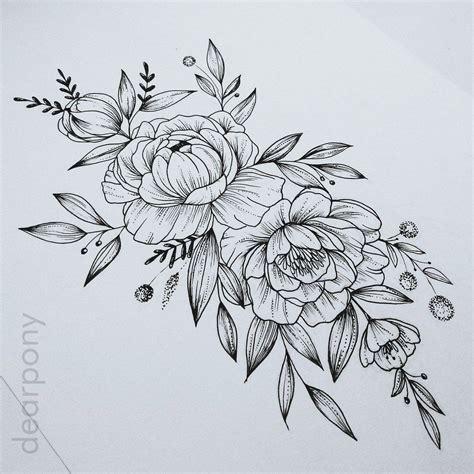peony rose tattoo dearpony tetovanie and tetovania